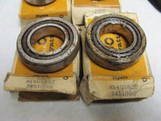 60 61 62 63 64 Corvair Chevy II Front Wheel Bearing Set of 4 7451077 7451080