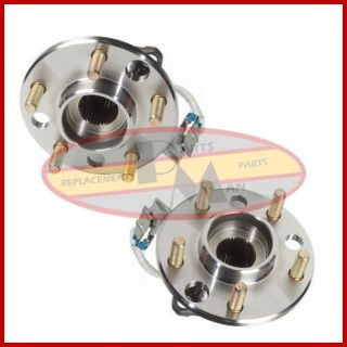 2 New Front Wheel Bearing Hub Assembly Pair Set of Two