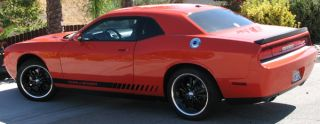 Dodge Challenger Rocker Panel Stripes to Fit 2008 to Present