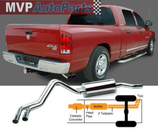 Gibson Exhaust System 98 09 Ford Ranger 2 5L 3 0L 4 0L