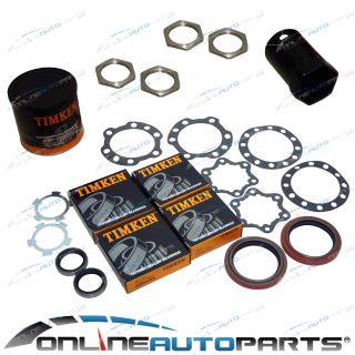 Front Wheel Bearing Overhaul Kit with Hub Socket Toyota Hilux 4x4 1979 1999 4WD