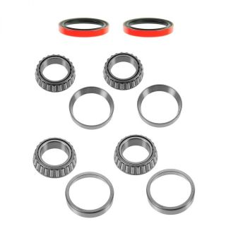 Front Wheel Bearing Race Seal Kit Set Inner Outer for Acura Honda Isuzu New