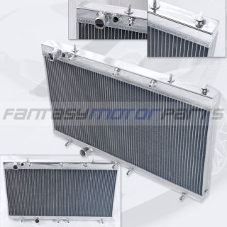 90 94 Eclipse Talon 4g63 Manual 2 Rows Aluminum Radiator Racing Cooling DSM 1g