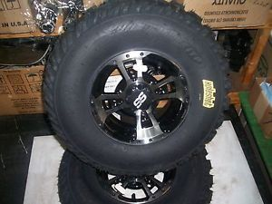 Yamaha YFZ450 Warrior Raptor Banshee Front ITP Rims XCR Holeshot Tires New