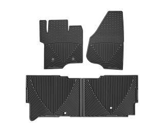 Weathertech® All Weather Car Mats 2011 2012 Ford Super Duty Supercab Black