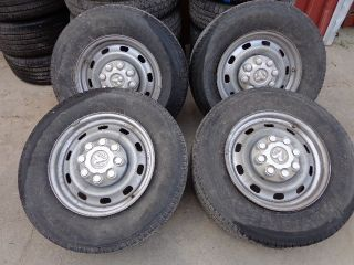 "4 2012 Dodge RAM 2500 Factory 17"" 8 Lug Wheels Firestone Tires 03 14"