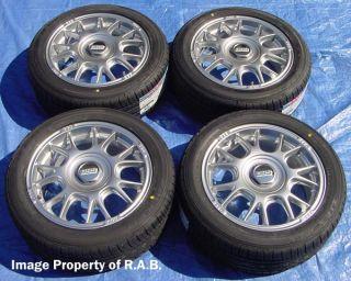 "16"" BBs Wheels Tires Honda Civic Fit Kia Rio Mirage"