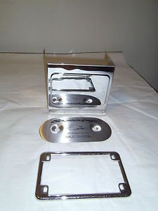 Harley Davidson Parts Lot Chrome Battery Cover Multi Fit 66340 78 Shiny