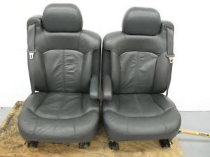 00 01 02 GMC Chevy Silverado Sierra Truck Tahoe Power Leather Bucket Seats Nice