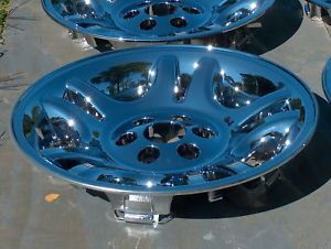 "Dodge Durango Dakota Chrome Wheels 16"" 4 New"