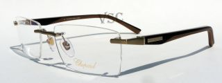 Chopard VCH 920 Eyeglasses Prescription Eye Glasses 383 Matte Gold Frame New