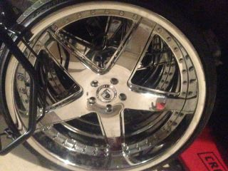 24 inch asanti AF 157 Rims and Tires Good Condition