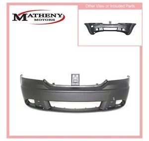 68034169AD CH1000943 Front New Bumper Cover Primered Dodge Journey 2012