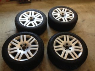 "BMW 745LI or 750LI 18"" Wheels Dunlop M3 Snow Tires BMW Style 93 Winter"