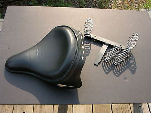 Corbin Gentry Harley Davidson Motorcycle Seat w Spears and Neo Skirt