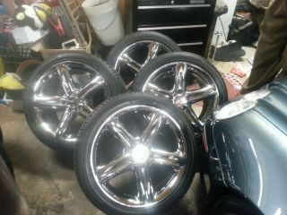 Chrome Mercedes Benz SL500 Rims Wheels