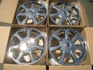 "17"" Cadillac cts Factory Chrome Wheels 16 17 18 19 20"