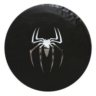 Jeep Spider Spare Tire Cover 31 inch Chrome