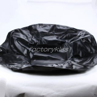 "17"" Weather Resistant Spare Wheel Tire Cover Black LJN"