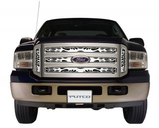 Putco 89396 Sierra Pickup Flaming Inferno Grille