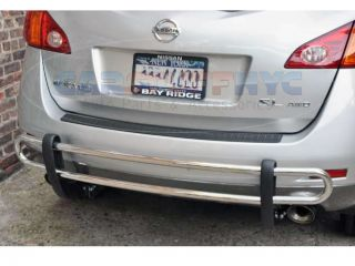 03 04 05 06 07 08 Nissan Murano Rear Bumper Guard Protector Cover Shield Bar s S