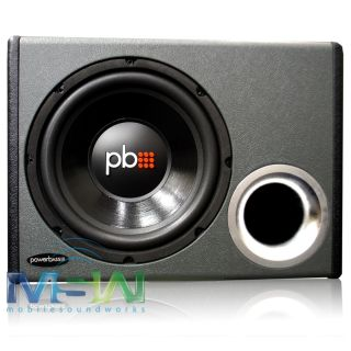 "Powerbass® PS WB110 Ported Loaded Subwoofer Enclosure Box w 10"" Car Sub Woofer"