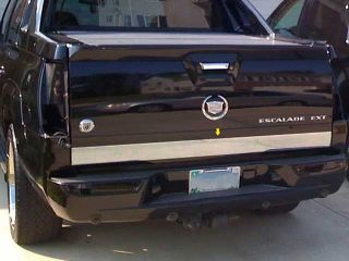 2002 2006 Cadillac Escalade Ext 1pc Rear Tailgate Trim