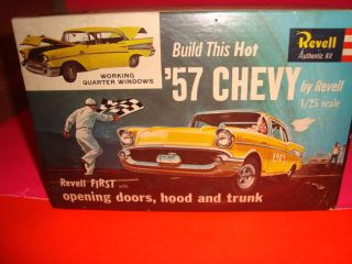 1 25 Scale Model Car Parts Revell 1957 Chevy Belair Parts