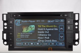 2008 11 Chevy Malibu Chevrolet DVD GPS Navigation Radio 09 10 CD  USB SD FM