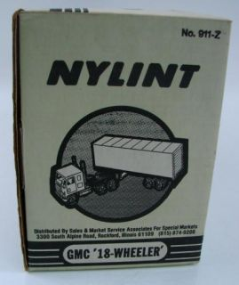 Vtg Nylint Yellow Michelin Tires 911 Z NY Lint Semi Trailer Truck New SEALED Box