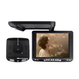 "Hot Black 10 4"" Flip Down Roof Mount Car DVD Player Wireless Games USA Delivery"