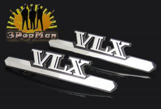 Chrome Motorcycle Gas Tank Decal Badge Emblem for Honda Shadow VT600C VLX V Twin