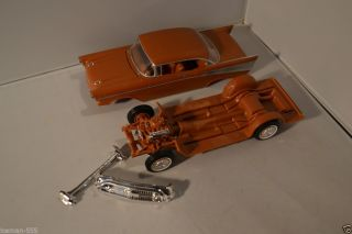 Vintage 1957 57 Chevy Bel Air Project Parts Model Car Kit