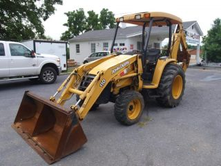 2006 John Deere 110 Loader Backhoe Low Hours