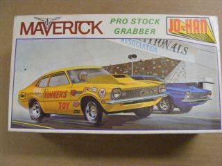 Vintage Original Johan Ford Maverick Pro Stock Kit Box Only 1 25 Scale