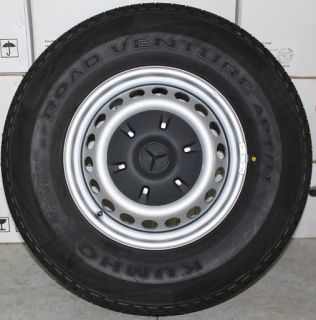 "2013 Mercedes Sprinter 16"" Factory 2500 Wheels Rims 10 Ply Tires Lug Nuts"