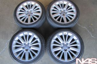 "18"" Factory Audi B8 A5 Wheels Rims Pirelli Tires"