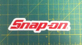 2 Snap on Tool Fun Truck Car Decals Stickers  Sell One