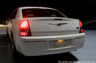 Sonar 05 07 Chrysler 300 Black LED altezza Tail Lights