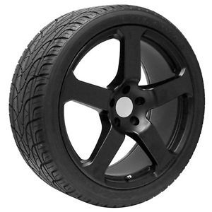 22 inch Black Audi Wheels Rims and Tires Fits Q7 2006 2015