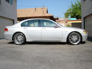 "22"" BMW Wheels Tires 745i 745LI 740i 740IL 650i 645i"