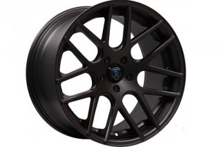 "20"" Audi A7 Rohana RC26 Concave Black Staggered Wheels Rims"