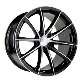 "20"" Ace Convex Wheels Black BMW 6 Series 645 650 M6 E63 E64 Concave Staggered"