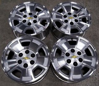 "Chevy Silverado Suburban Tahoe Avalanche Express 17"" Factory Wheels Rims 55"