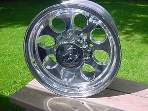 16x8 8 Lug Baja Style Chevy Ford Dodge Wheels