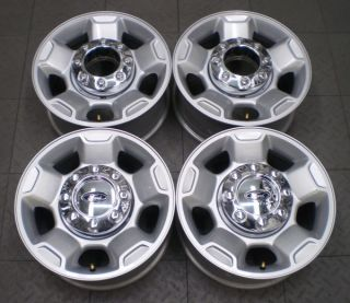 "3829 Ford F250 F350 17"" Factory Alloy Wheels Rims 4"