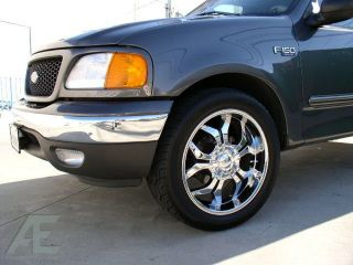 24 Wheels Rim Tires Ford Expedition Navigator Dodge RAM