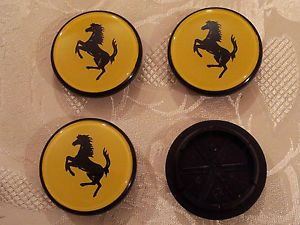 Coprimozzo Fregi Borchie Lancia Thema Ferrari E Fiat Wheels Centre Caps 55mm