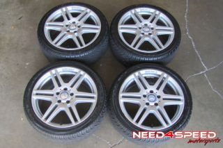 "18"" Factory Mercedes Benz W212 E350 E550 Coupe AMG Wheels Rims Nexen Tires"