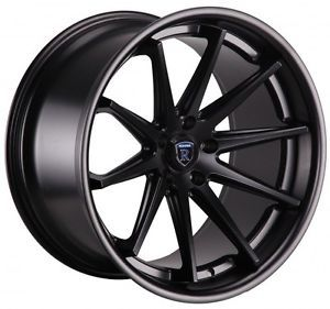 "20"" Rohana RC10 Matte Black Wheels Rims Fit Lexus SC300 sc400 SC430 1992 2002"